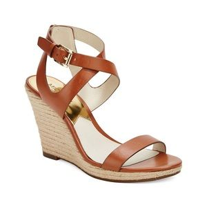 MICHAEL Michael Kors Kaylee Leather Wedge